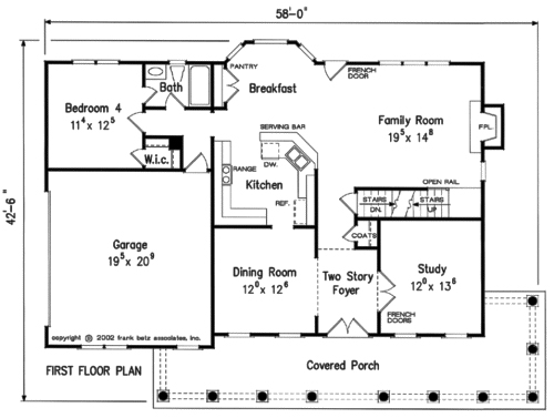 Plans Walk Closet Master Bathroom Floor Second