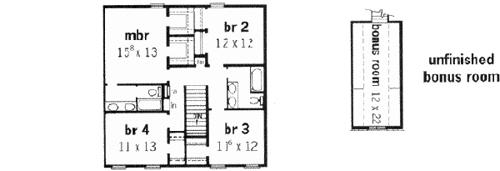 Master Bedroom Upstairs Floor Plans 4 bedroom colonial floor plan – home ideas decor